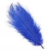 "Ostrich Drab Feathers 6-8"" Premium Quality Royal Blue"